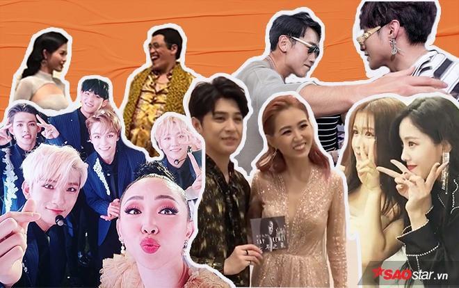 Noo Phước Thịnh  Sơn Tùng và nhiều nghệ sĩ Việt cùng những khoảnh khắc tình-thân-mến-thân với Sao châu Á ảnh 0