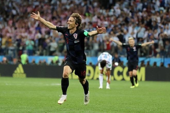 ĐT Anh từng thất thủ trước ĐT Croatia tại bán kết World Cup 2018.