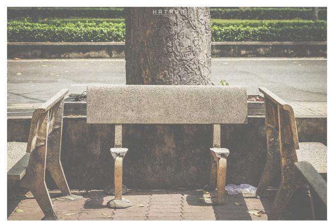 Chiếc ghế đá không dành để ngồi