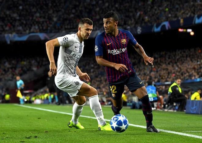 Rafinha đã thi đấu rất tích cực khi được HLV Valverde xếp đá chính thay Messi bị chấn thương.