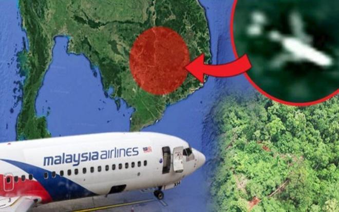 Một số người cho rằng họ phát hiện ra xác máy bay mất tích trong rừng rậm Campuchia qua ảnh Google Maps.
