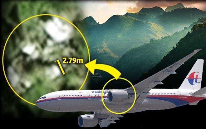 Qua Google Maps,Boyer nói xác định vật thể có kích thước tương đương động cơ máy bay mất tích.