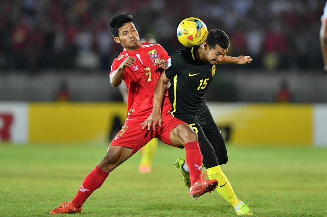 """""""Ronaldo Myanmar"""" đang chơi cực hay tại Thai League."""