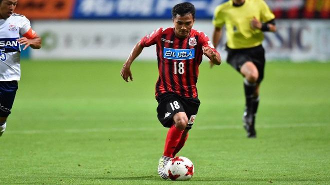 Chanathip đang thi đấu rất hay tại Nhật Bản.
