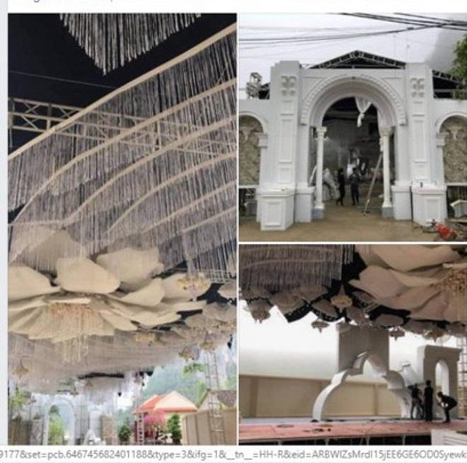 Rạp cưới khủng ở Cao Bằng gây xôn xao cư dân mạng