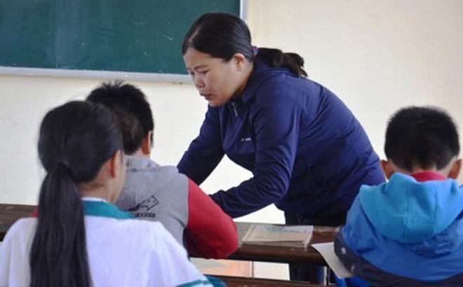 Cô giáo trong vụ tát học sinh lớp 6 tại Quảng Bình.