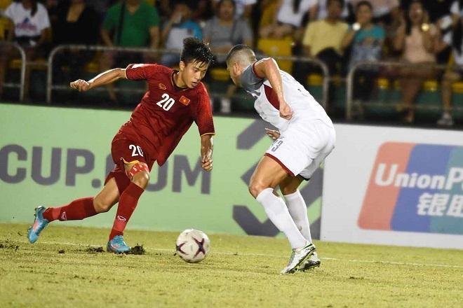 Phan Văn Đức tỏa sáng rực rỡ trong 2 trận bán kết AFF Cup 2018 gặp ĐT Philippines.
