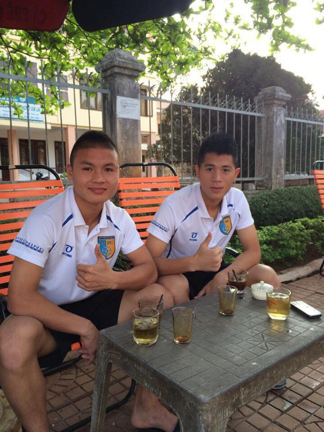 Đình Trọng và Quang Hải những ngày đầu trong CLB bóng đá trẻ Hà Nội