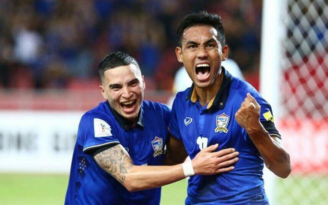 Tuyển Thái Lan sẽ đấu với Trung Quốc.