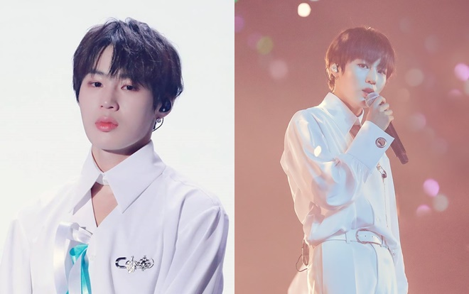 Sungwoon tại concert Therefore.