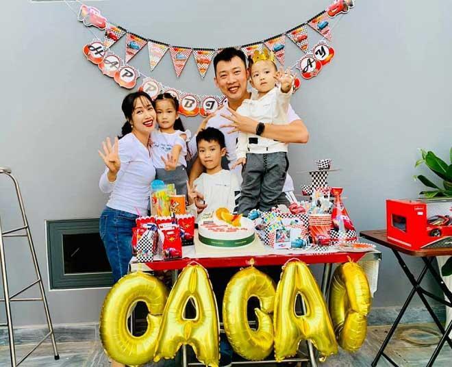 Ốc Thanh Vân cùng gia đình ăn mừng sinh nhật 4 tuổi của bé Cacao!