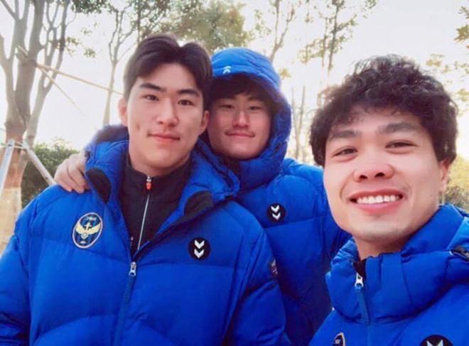 Công Phượng nhanh chóng hòa nhập với các đồng đội mới ở CLB Incheon United