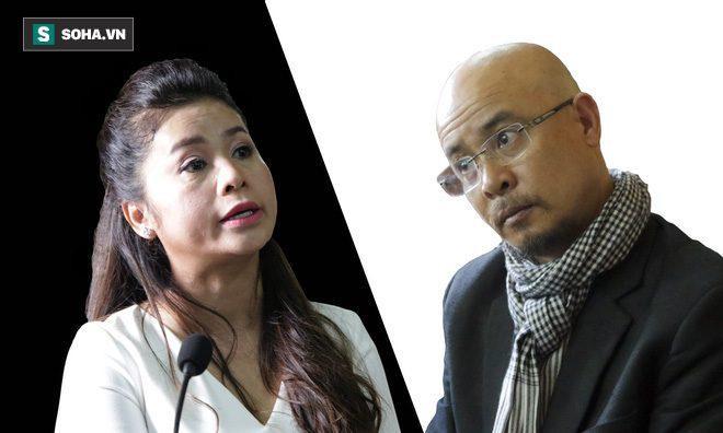 Vợ chồng ông chủ cà phê Trung Nguyên đã có phần tranh luận gay gắt về vấn đề phân chia tài sản và cấp dưỡng nuôi con.