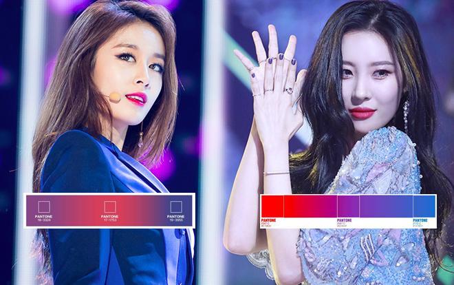 Còn bạn, bạn nghĩ sao về sự trùng hợp màu sắc fandom giữa 2 cô nàng?