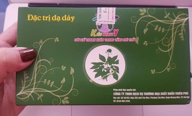 Vợ chồng ca sĩ Phú Lê bị điều tra vì bán hàng không giấy phép rồi quảng cáo là thuốc đặc trị ảnh 1
