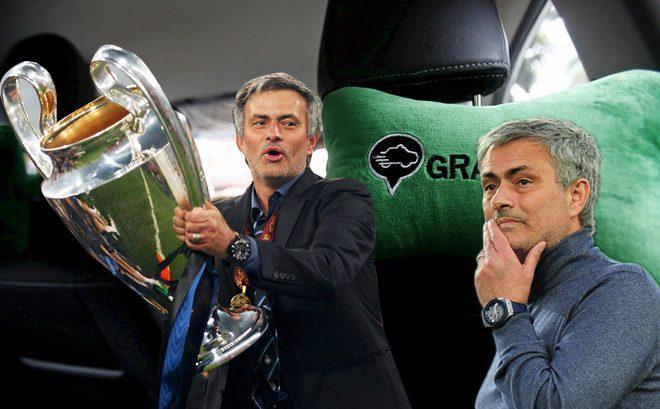 Mourinho đang bật định vị xin việc như một tài xế Grab