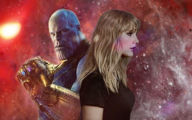 """Nếu Taylor Swift cất tiếng hát trong Avengers: End Game thì còn gì tuyệt vời hơn nhỉ? Tuy nhiên, tất cả chỉ là """"nếu""""!."""