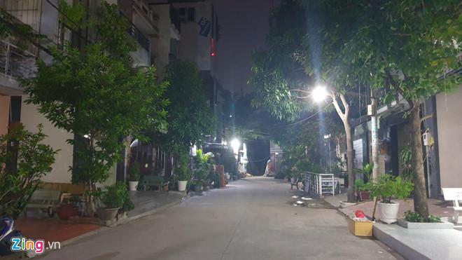 Con hẻm đường Nguyễn Cữu Đàm (quận Tân Phú), nơi 2 phụ nữ nghi liên quan vụ án từng sinh sống. (Ảnh: Zing.vn)