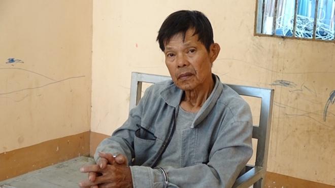 Tìm vợ không gặp, Nguyễn Thanh Mai đã đâm chết mẹ vợ. Ảnh: báo CAND.