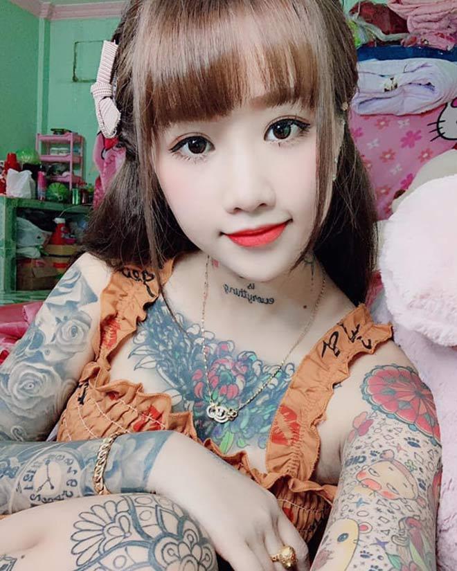 Thiên Hương được xem là cô gái cá tính và xinh đẹp.