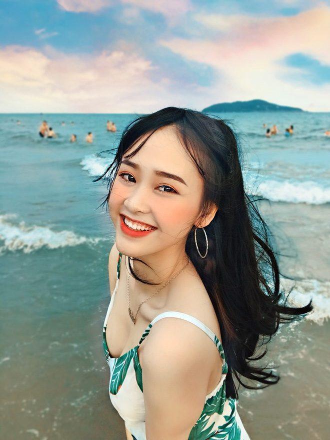Bức ảnh mặc bikini được chú ý của Nguyễn Thảo Vi