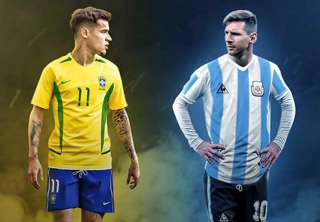 Argentina và Brazil sẽ gặp nhau ở bán kết Copa America 2019