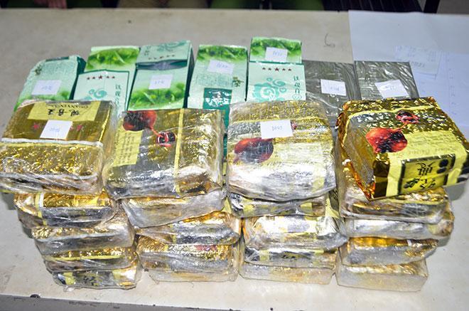 Bắt giữ 4 đối tượng trong đường dây ma túy xuyên quốc gia ảnh 2