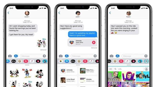 iMessage là ứng dụng nhắn tin độc quyền được trang bị trên các thiết bị Apple. Ảnh: MacWorld.