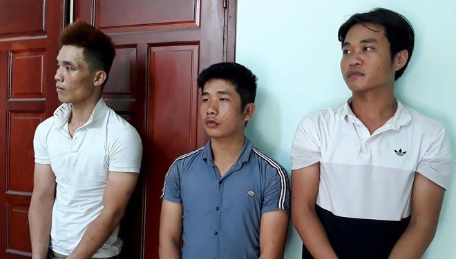 Nhóm đối tượng đột nhập nhà trọ ở Sài Gòn trộm 9 xe máy do thiếu tiền tiêu xài, sử dụng ma túy. Ảnh: Sài Gòn Giải phóng.
