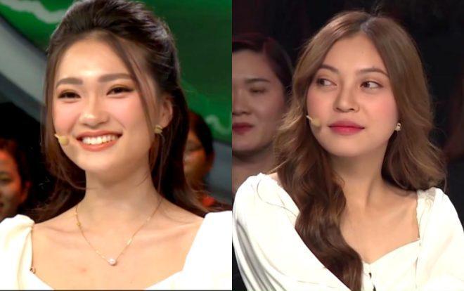 Bạn gái Quang Hải sánh vai cùng bạn gái Văn Đức tham gia chương trình Nhanh như chớp.