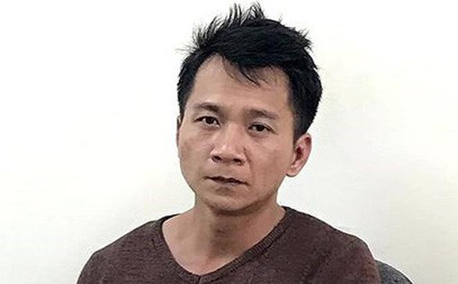 Vương Văn Hùng thời điểm sau khi bị bắt.