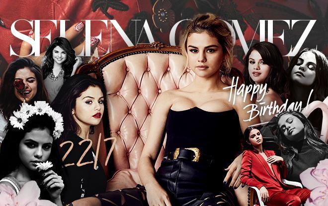 Tuổi 27 thật hạnh phúc nhé, Selena Gomez!