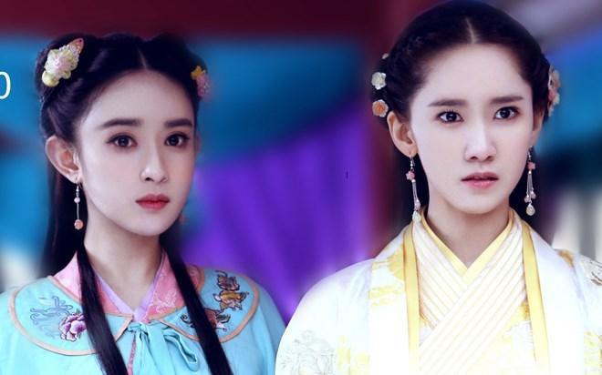 """Đứng chung khung hình với """"biểu tượng nhan sắc xứ Hàn"""" Yoona, Mạnh Tử Nghĩa không hề bị lu mờ, ngược lại khuôn mặt sắc sảo của nàng Hoa khôi còn có phần nổi bật hơn nữ thần K-biz"""
