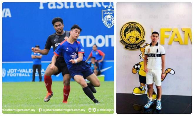 Chân dung Joshua Johan Bechler, cầu thủ chuẩn bị nhập tịch Malaysia.