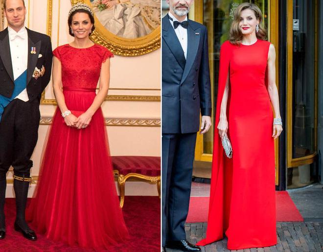 Công nương Kate Middleton và Hoàng hậu Tây Ban Nha đều sở hữu thần thái Hoàng gia thanh lịch, cùng với gu thời trang đơn giản mà đẳng cấp. Rất nhiều lần, cả hai đều được đưa bàn cân so sánh