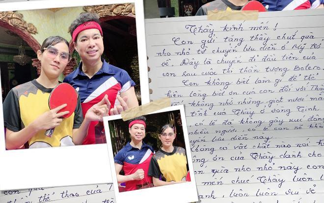 Quỳnh Trâm và lá thư đầy xúc động gửi danh ca Ngọc Sơn.