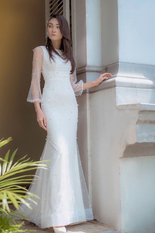 Một thiết kế trang nhã cho cô dâu yêu vẻ đẹp thơ mộng