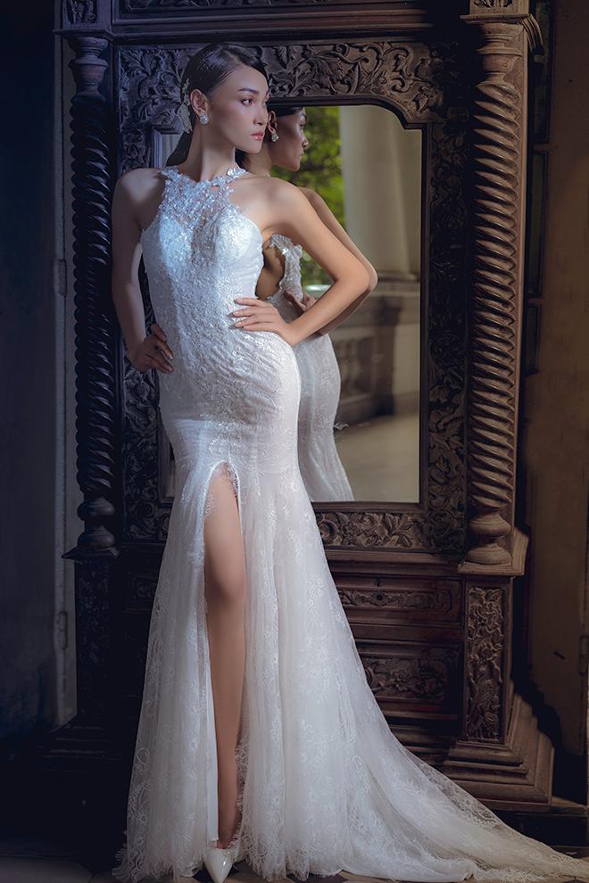Trong váy cưới yếu tố thủ công luôn được đề cao và tuân theo nghiêm ngặt
