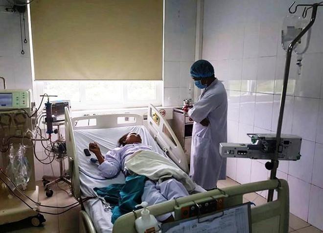 Bệnh nhân đang được theo dõi sau sự cố