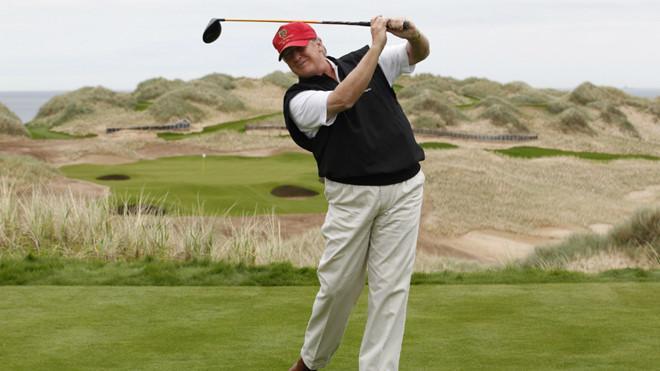 Tổng thống Trump dự kiến chơi golf tới 4 giờ chiều 4/8 (theo giờ địa phương).