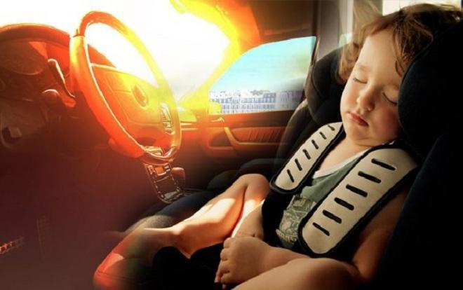 Trẻ em có nguy cơ tử vong cao hơn người lớn khi bị bỏ rơi trong xe ô tô.