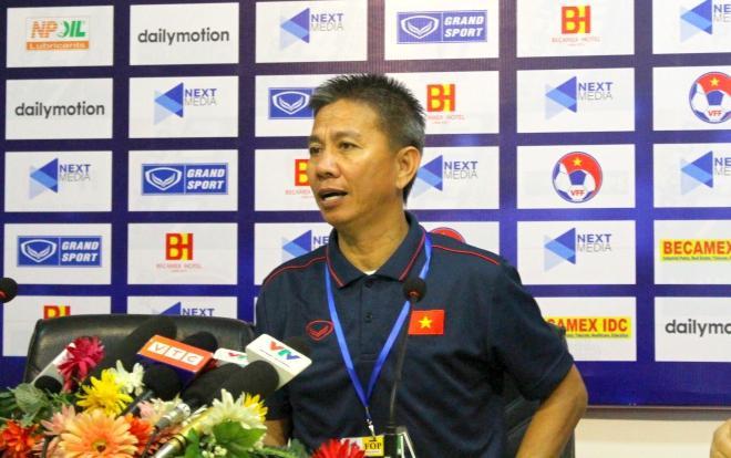 HLV Hoàng Anh Tuấn cho rằng cả hai đội đã có trận đấu hay và U18 Việt Nam không hòa bạc trước đại kình địch.
