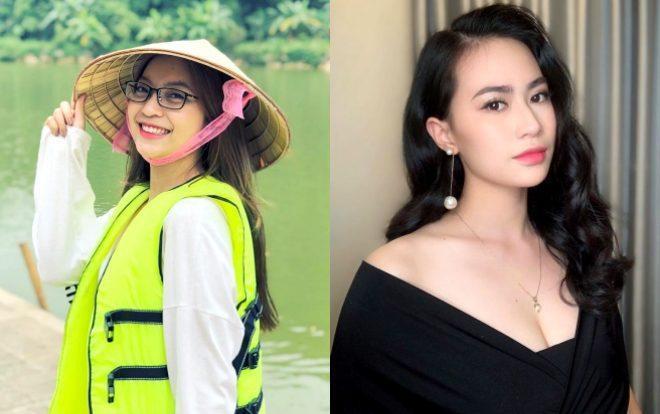 """So về nhan sắc, Nhật Lê có phần trẻ trung hơn """"người mới"""" Quang Hải do mới 20 tuổi. Trong khi đó, Thảo Mi sinh năm 1996, tức lớn hơn Quang Hải 1 tuổi nên có phần già dặn hơn."""