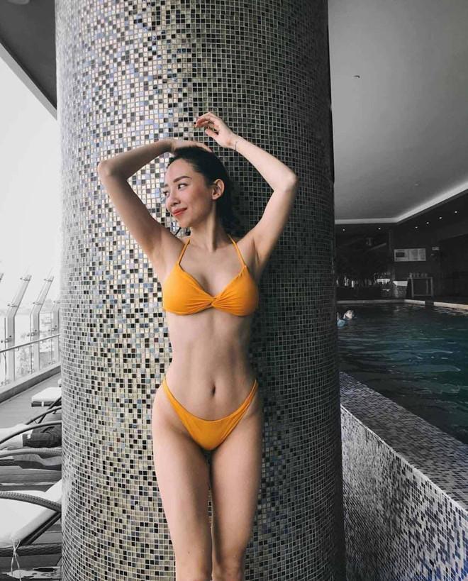 Theo trend khoe eo thon gọn, loạt mỹ nhân Việt cao tay khoe hẳn cơ bụng rõ múi khiến dân tình phát thèm ảnh 12