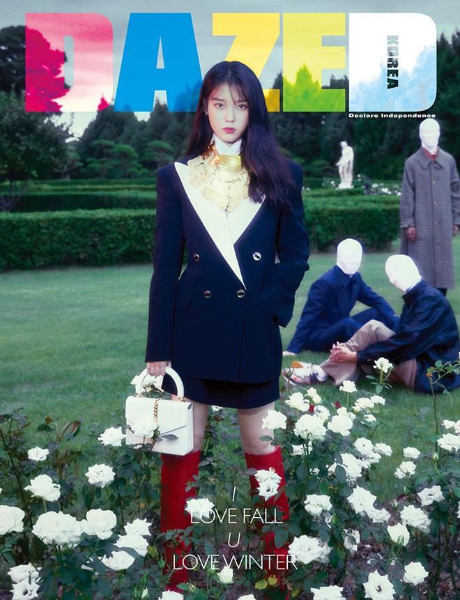 Thần thái ngút ngàn của nữ ca sĩ kiêm diễn viên tài năng xứ Hàn trên bìa tạp chí DAZED Korea đình đám với combo đồ đến từ thương hiệu Ý thuộc BST Thu/Đông 2019 của hãng