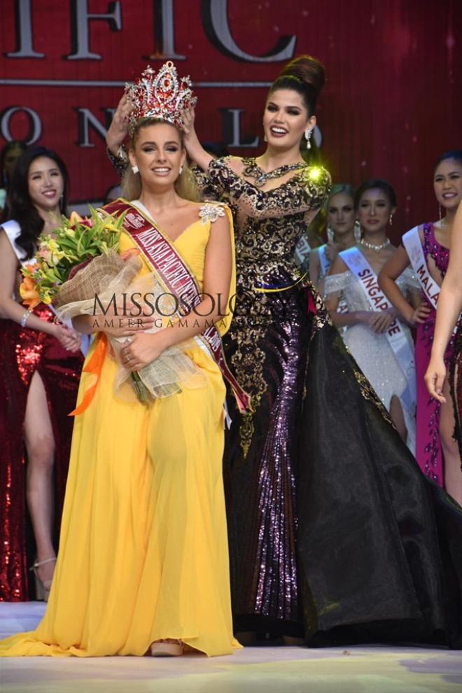 Người đẹp Tây Ban Nha đăng quang Miss Asia Pacific International 2019.