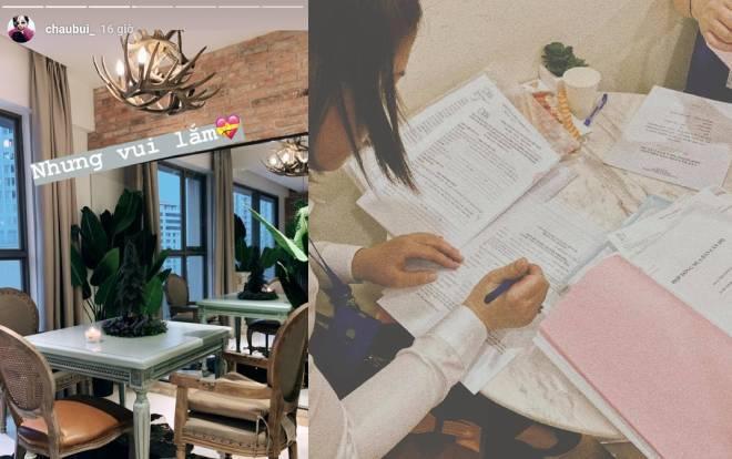 """Vào khoảng tháng 7 vừa qua, cô nàng khoe đã """"tậu"""" một chung cư rộng gần 100 m2 ở Sài Gòn. Vậy là chỉ sau 3 năm hoạt động nghệ thuật, Châu Bùi đã tự mua cho mình một căn nhà riêng khiến dân tình không khỏi choáng váng."""