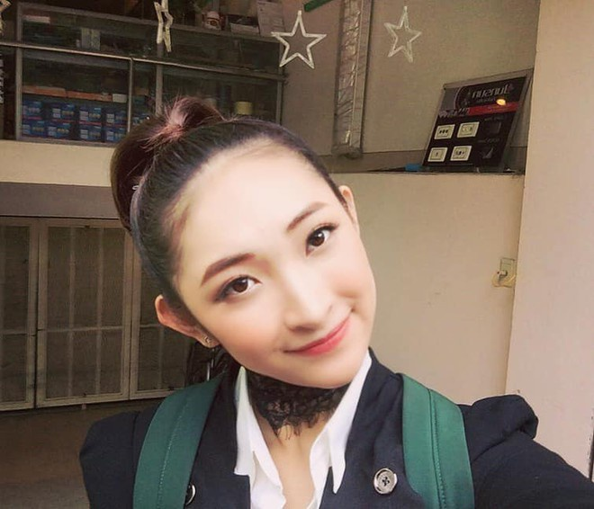 Cận cảnh nhan sắc và làn da hoàn hảo của tân Hoa khôi sinh viên 2019