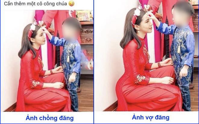 Bức hình do anh chồng nhầm lẫn đăng lên đã vô tình khiến Lưu Đê Ly thành trò cười