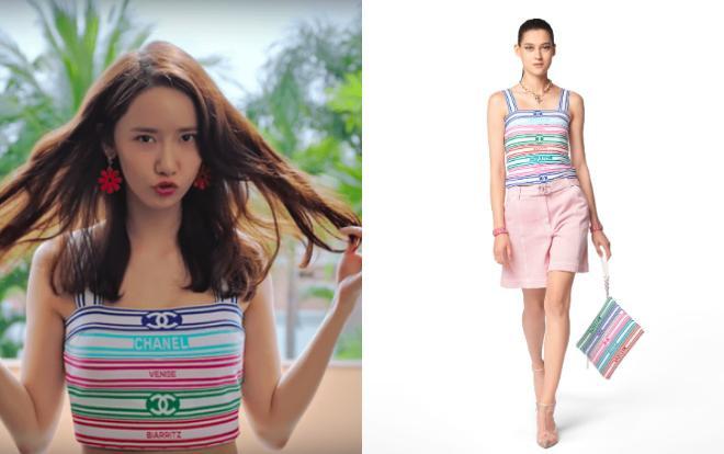 Full set đồ Chanel được Yoona chọn mặc khi quay một MV ca nhạc hồi hè vừa qua
